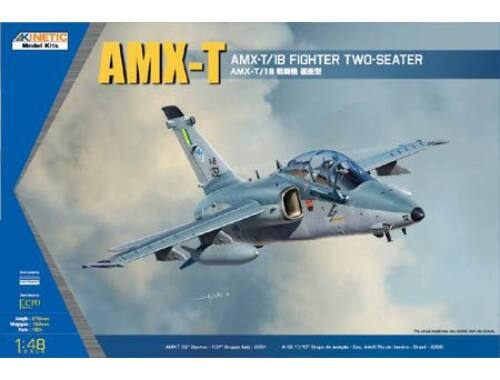 Kinetic AMX-T Double Seat Fighter 1:48 (48027)