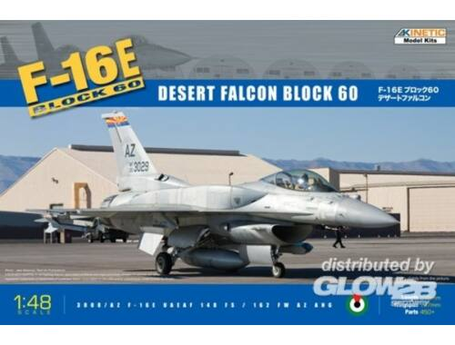 Kinetic F-16E Block 60 Desert Falcon 1:48 (48029)