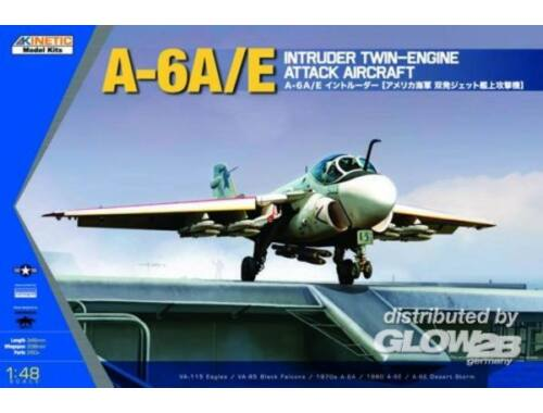 Kinetic A-6A/E Intruder Twin Engine Attack 1:48 (48034)