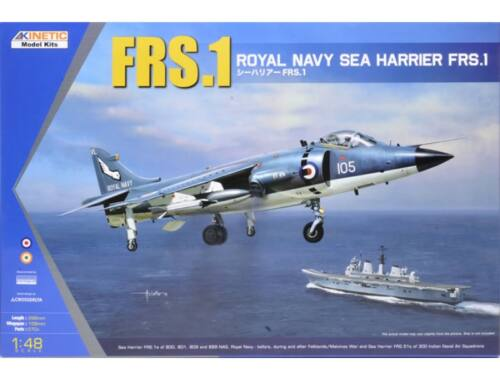 Kinetic Sea Harrier FRS.1 Royal Navy 1:48 (48035)