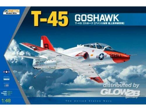 Kinetic T-45A/C Goshawk Navy Trainer Jet 1:48 (48038)