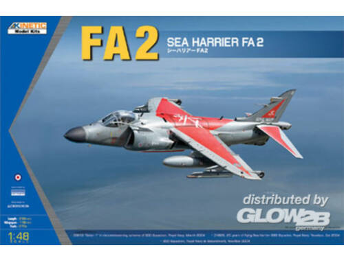 Kinetic Sea Harrier FA2 1:48 (48041)