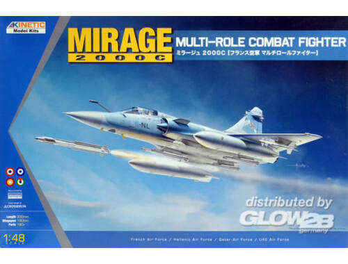 Kinetic Mirage 2000C Multi-role Combat Fighter 1:48 (48042)