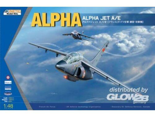 Kinetic Alpaha Jet A/E 1:48 (48043)