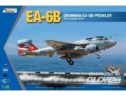Kinetic EA-6B (New Wing) Grumman Prowler 1:48 (48044)