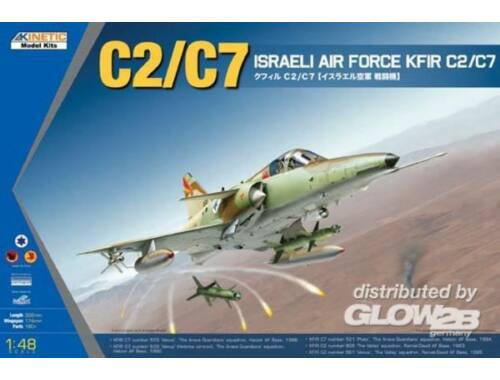 Kinetic KFIR C2/C7 Israeli Air Force 1:48 (48046)