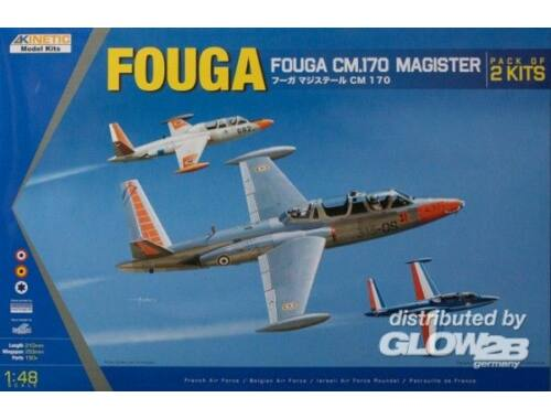 Kinetic Fouga Magister CM 170 1:48 (48051)