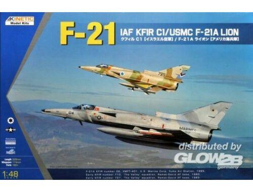 Kinetic KFIR F-21A/C1 LION 1:48 (48053)