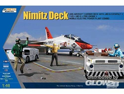 Kinetic Nimitz Deck 1:48 (48057)