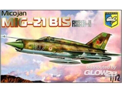 Condor MiG-21 BIS Fishbed-N Soviet fighter 1:72 (7201)