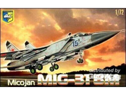 """Condor MiG-31 BM """"Foxhound"""" Soviet interceptor 1:72 (7204)"""
