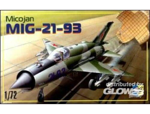 Condor MiG-21-93 Soviet fighter 1:72 (7205)