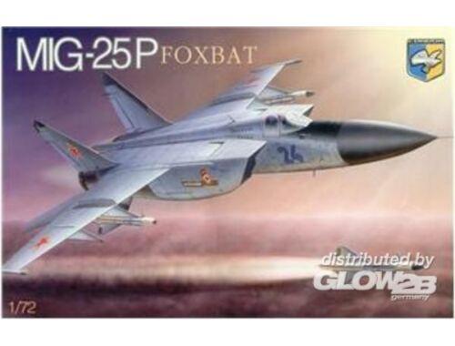 "Condor MiG-25P ""Foxbat"" Soviet interceptor 1:72 (7212)"