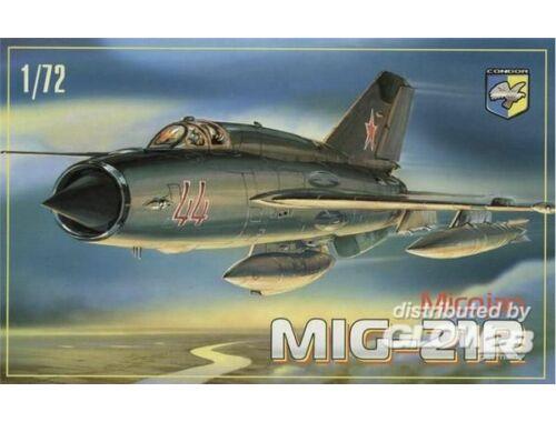 Condor MiG-21 R Soviet reconnaissance fighter 1:72 (7215)