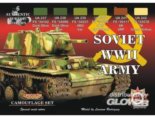 Life Color Russian WWII Army (CS23)