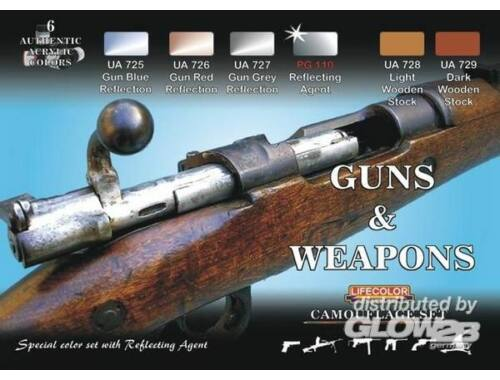 Life Color Guns and Weapons (CS26)