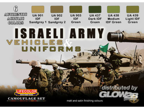 Life Color Israeli Army Vehicles   Uniforms (CS32)