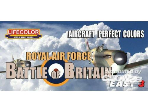 Lifecolor Paint Set Royal Air Force Battle of Britain (MS06)