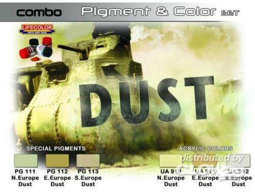 Lifecolor Paint Set SET COMBO effects of DUST (SPG04)