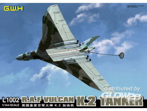 Lion Roar R.A.F VULCAN K.2 Tanker 1:144 (L1002)