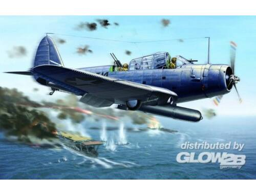 Lion Roar WWII Douglas TBD-1 Devastor - VT-8 1942 1:48 (L4807)