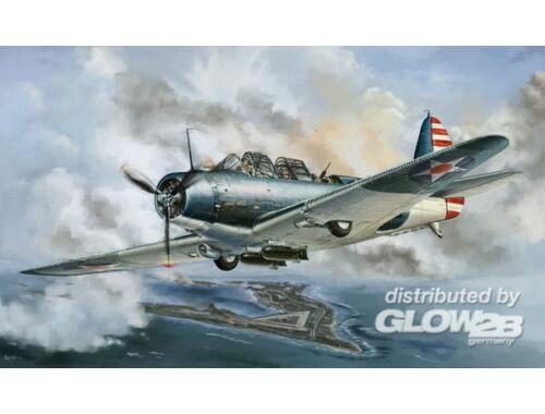 Lion Roar WWII Douglas TBD-1 Devastator-VT-6 1942 1:48 (L4809)