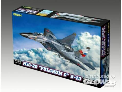 """Lion Roar MIG-29 9-13 """"Fulcrum C"""" 1:48 (L4813)"""