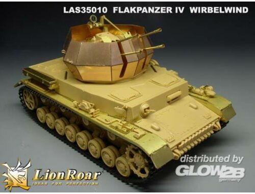 Lion Roar German Flakpanzer IV Wirbelwind for Tamiya 1:35 (LAS35010)