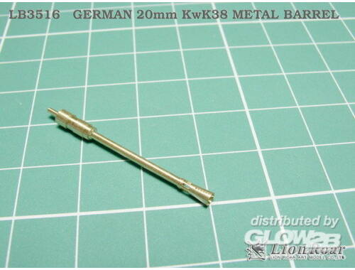 Lion Roar Kwk 38 20mm (Full Structure/Super Detail) 1:35 (LB3516)