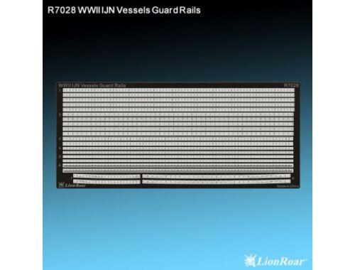 Lion Roar WWII IJN Vessels Guard Rails 1:700 (R7028)