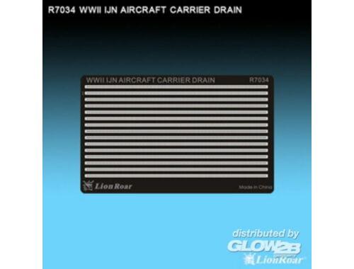 Lion Roar WWII IJN Aircraft Carrier Drain 1:700 (R7034)