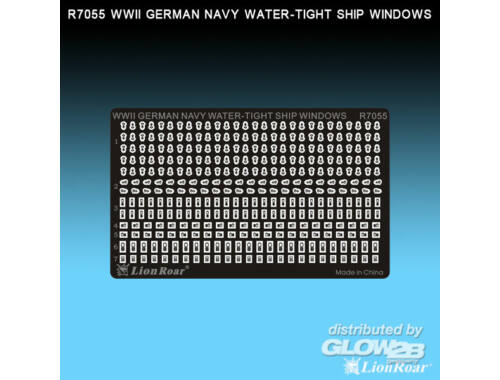 Lion Roar WWII German Navy Water-tight ship wind. 1:700 (R7055)