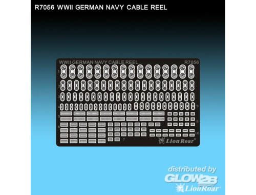 Lion Roar WWII German Navy cable reels 1:700 (R7056)