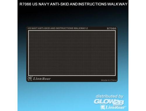 Lion Roar WWII US Navy Antiskid Plate II 1:700 (R7066)