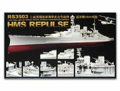 Lion Roar WWII HMS Battlecruiser Repulse 1941 1:350 (RS3503)