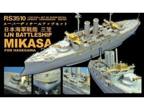 Lion Roar IJN Battleship Mikasa for Hasegawa 1:350 (RS3510)