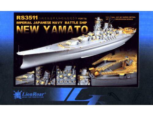 Lion Roar WWII IJN Battleship Yamato for Tamiya 1:350 (RS3511)