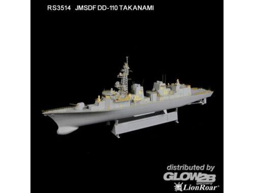 Lion Roar JMSDF DD-110 Takanami for Pitroad/TRU 1:350 (RS3514)