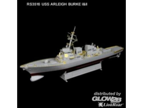 Lion Roar US Navy Destr. Arleigh Burke Class I II 1:350 (RS3516)