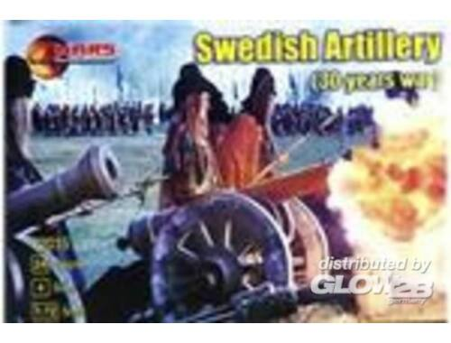 Mars Swedish artillery, 30 years war 1:72 (72015)