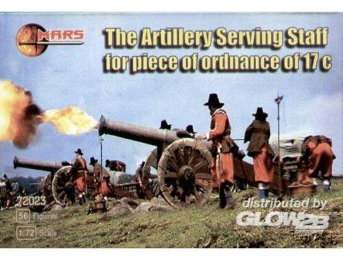 Mars Artillery serving staff, XVII century 1:72 (72023)