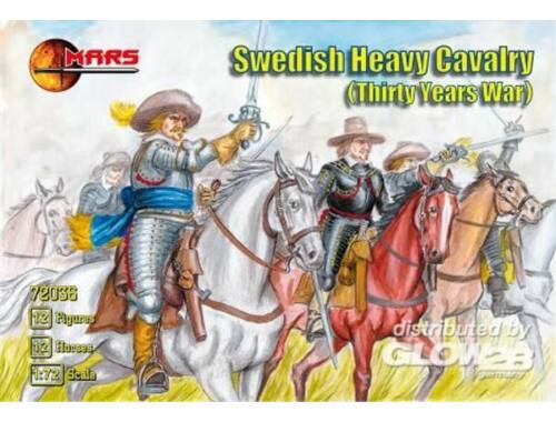 Mars Swedish heavy cavalry 1:72 (72036)