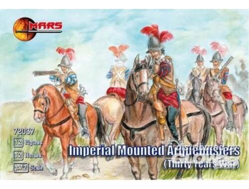 Mars Imperial mounted arquebusiers 1:72 (72037)