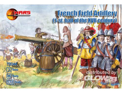 Mars French Field Artillery I.half of XVII 1:72 (72044)