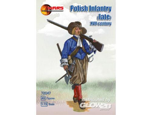 Mars Polish infantry (late), XVII century 1:72 (72047)