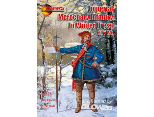 Mars Imperial Mercenary infantry in winter 1:72 (72049)