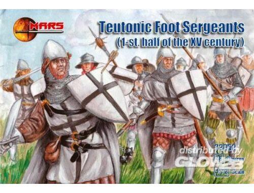 Mars Teutonic foot sergeants, 1st half of XV 1:72 (72052)