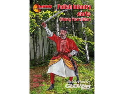 Mars Polish infantry (early), Thirty Y. War 1:72 (72073)