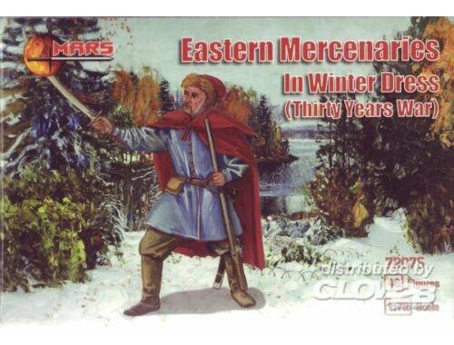 Mars Eastern mercenaries in winter dress,Thir 1:72 (72075)