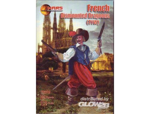 Mars French Dismount dragoons 1:72 (72078)